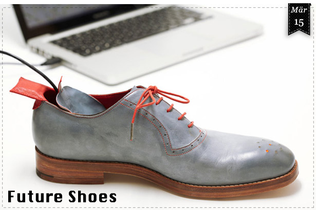 Future Shoes: GPS Schuhe