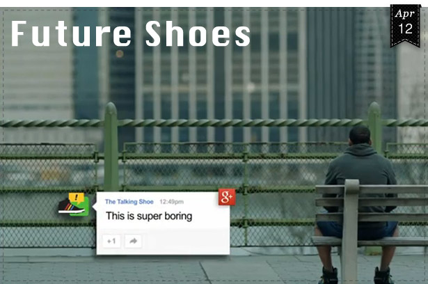 Talking Shoes by Google