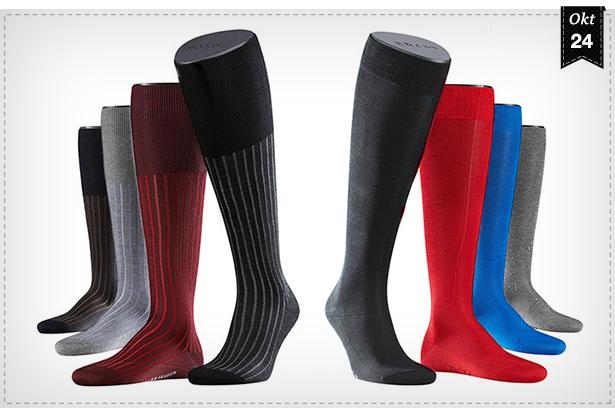 Stiefel für Herren mit Karomuster an der Schuhöffnung